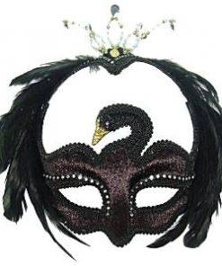 Black Swan Masquerade Mask