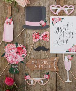 Boho Wedding Photo Booth Props