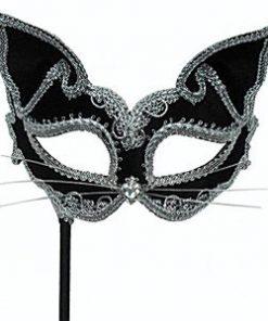 Cat Mask on Stick