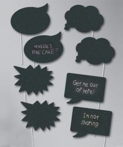 Chalk Photo Booth Props