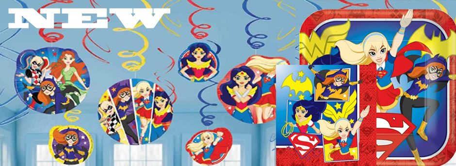 Cheapest-online-Super-Hero-Girls-Party-Supplies-Decorations-Balloons-Next-Day-Delivery-Facebook-Friends