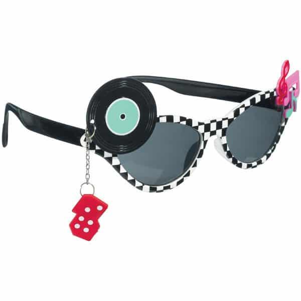 Classic 50's Glasses