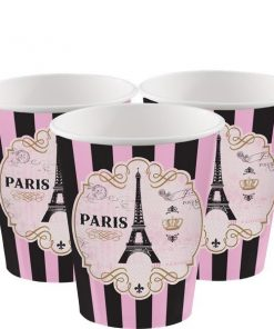 Day In Paris Party Paper Cups