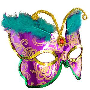 Deluxe Butterfly Feather Mask