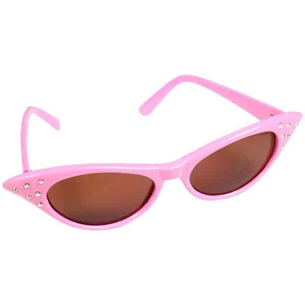 Diamante Flyaway Pink Glasses