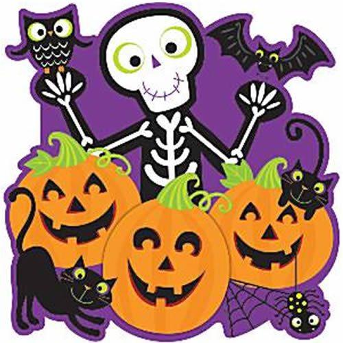Halloween Friendly Halloween Cutout