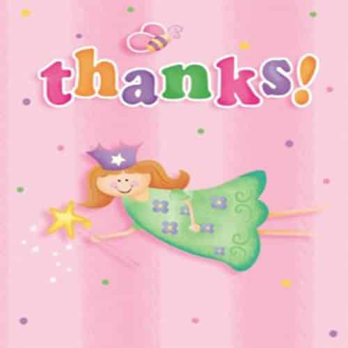 Fun At One 1st Party Girl Thank You Cards