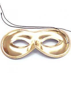 Gold Domino Masquerade Mask