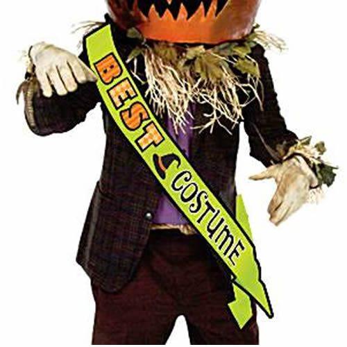 Halloween Best Costume Sash