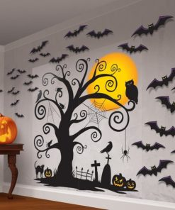 Halloween Creepy Tree Scene Kit