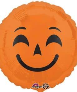 Halloween Emoji Pumpkin Foil