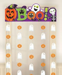 Halloween Family Friendly Door Curtain
