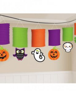 Halloween Friendly Lantern Garland