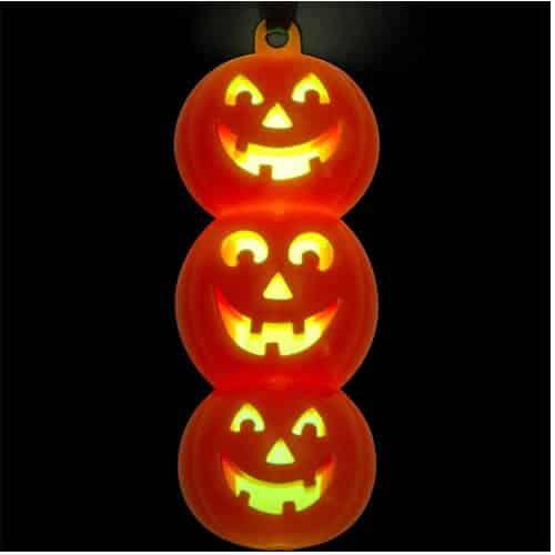 Halloween Glow Pumpkin Necklace