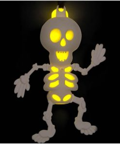 Halloween Glow Skeleton Necklace