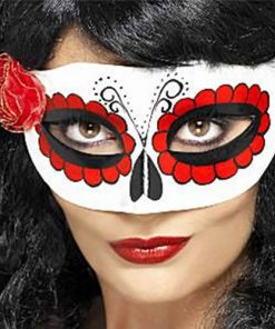 Halloween Mexican Day of the Dead Mask