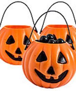 Halloween Cauldrons, Buckets & Bags