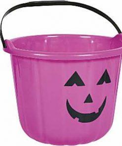 Halloween Purple Pumpkin Bucket