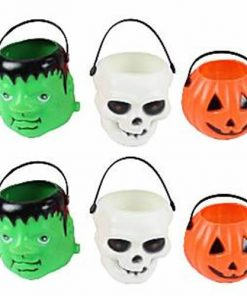 Halloween Trick or Treat Party Pails