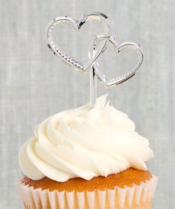 Heart Shaped Cake Picks