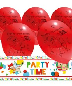 In the Night Garden Party Foil Banner & Latex Balloon Kit