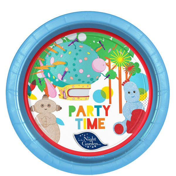 In the Night Garden Party Paper Plates