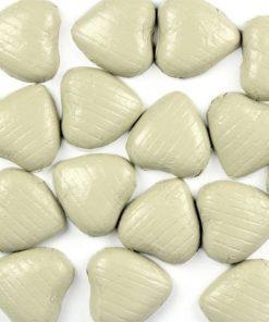 Ivory Chocolate Hearts