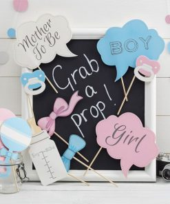 Little Lady Or Mini Mister Photo Booth Props