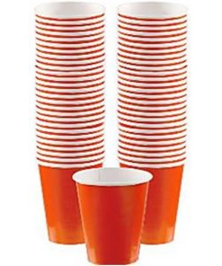 Orange Coffee Cups