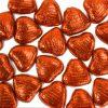 Orange Chocolate Hearts