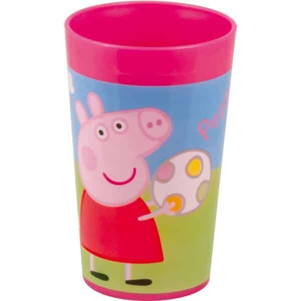 Peppa Pig Party Plastic Tumbler