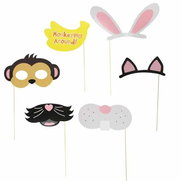 Pets Photo Booth Props