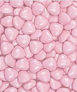 Pink Chocolate Hearts - 1kg (700 per box)