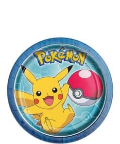 Pokemon Party Paper Dessert Plates