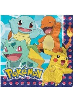 Pokemon Party Paper Napkins