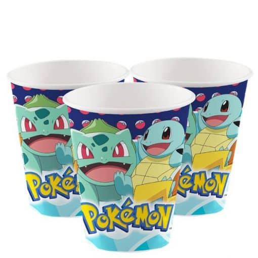 Pokémon Paper Cups - 250ml