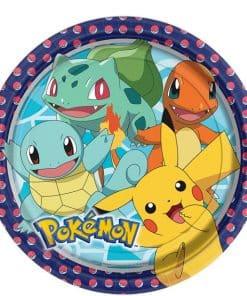 Pokémon Paper Plates - 23cm