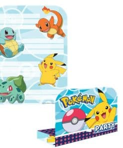 Pokémon Party Invitations