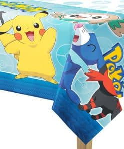 Pokemon Party Plastic Tablecover