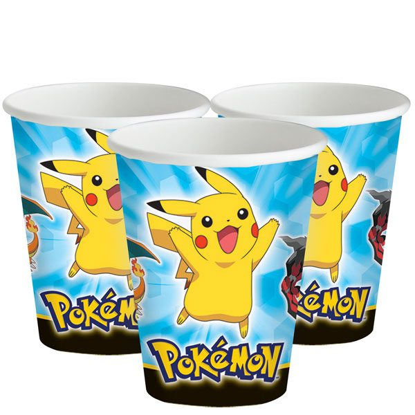 Pokemon Party Paper Cups
