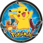 Pokemon Party Themed Paper Plates