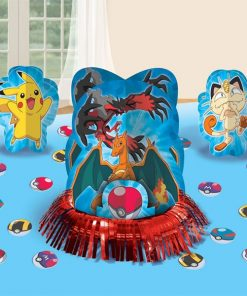 Pokemon Party Table Decorating Kit