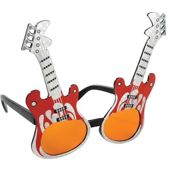 Rock Guitar Glasses