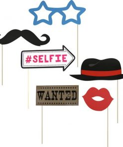 Selfie Photo Booth Props