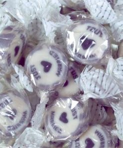 Silver 'Just Married' Rock Sweets