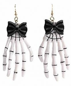 Halloween Skeleton Hand Earrings