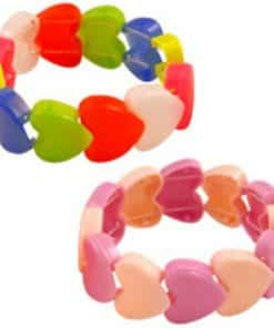 Stretchy Heart Bracelet