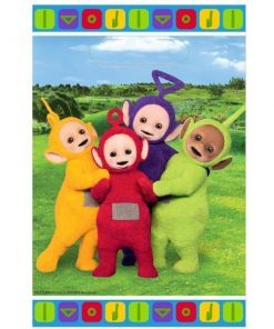 Teletubbies Party Plastic Loot Bags