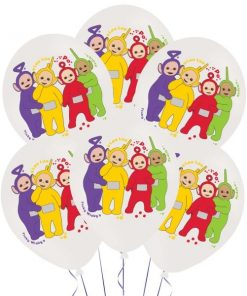 Teletubbies Party Printed Latex Balloons