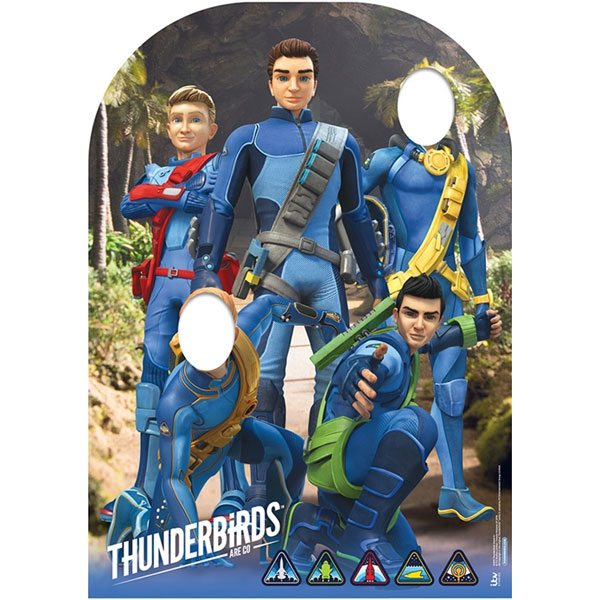 Thunderbirds Party Stand In Photo Prop
